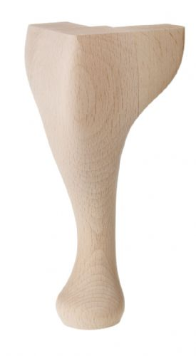 "QA08 200mm (8"")Queen Anne Legs THESE LEGS ARE SOLD IN SETS OF FOUR"